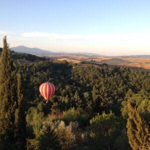 Balloon Flights in Montalcino