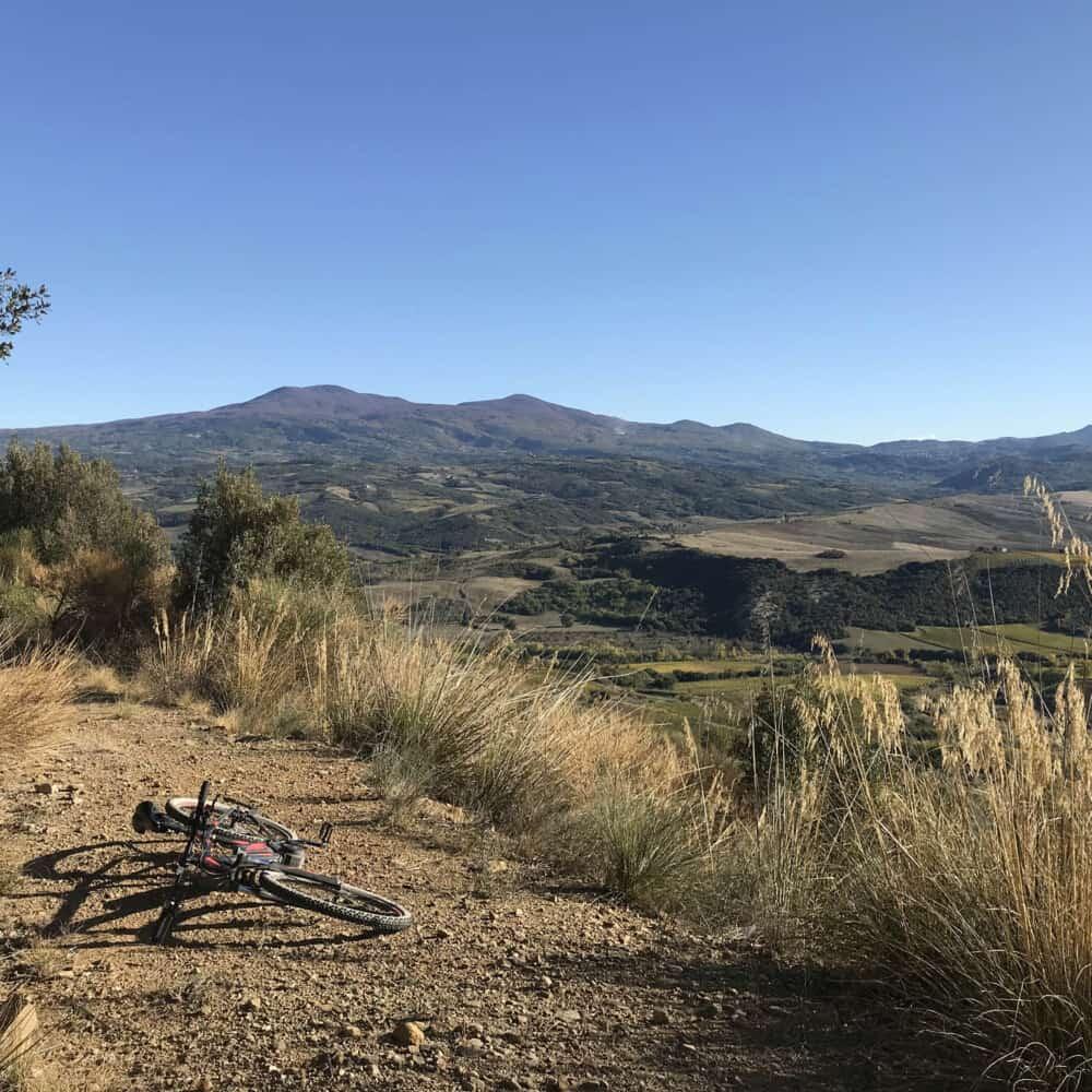 Montalcino bike tour