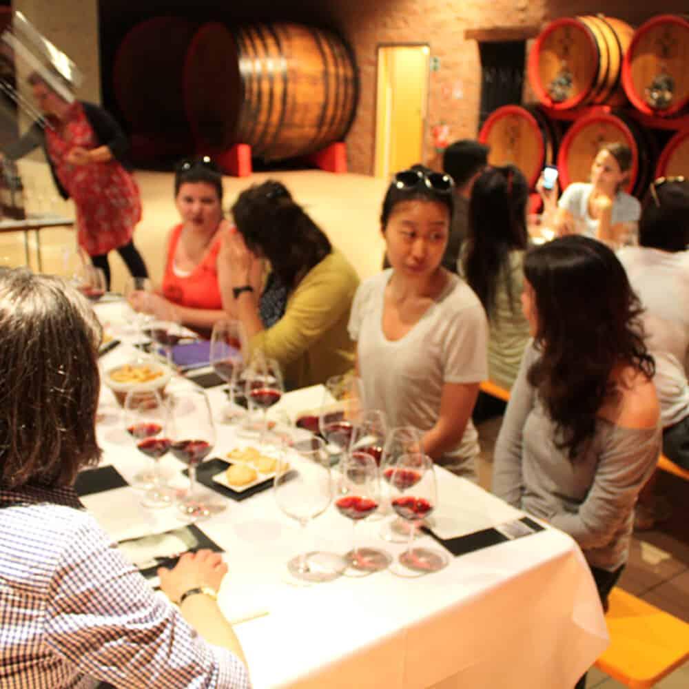 Brunello di Montalcino wine tasting tour by the cellar