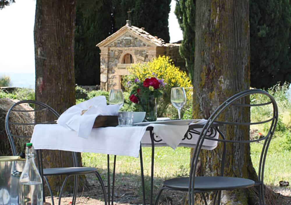 pic nic in the countryside of Montalcino
