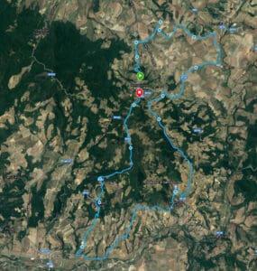 Montalcino Trekking Map