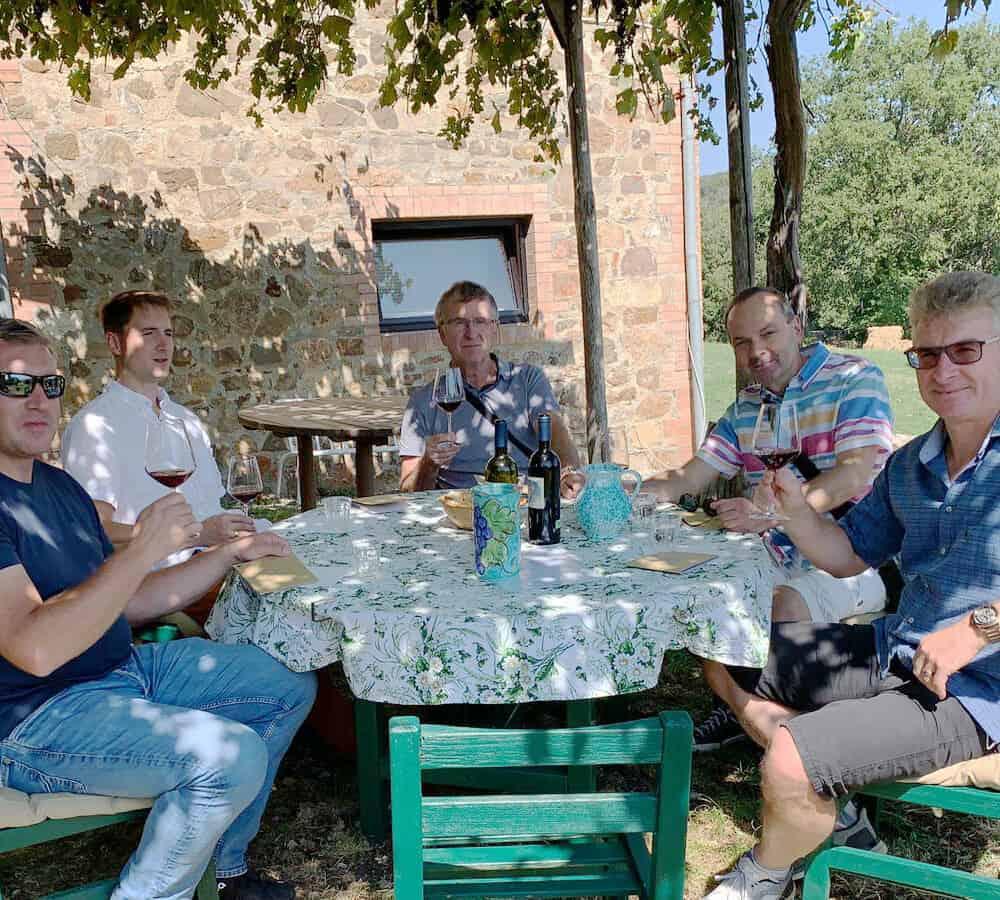 Truffle Hunting wine tours Montalcino