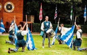 San Quirico d'Orcia: the Festa del Barbarossa