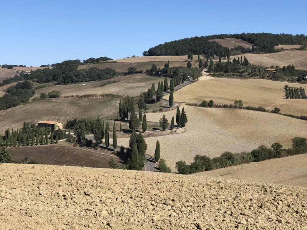 Monticchiello near Pienza in Tuscany