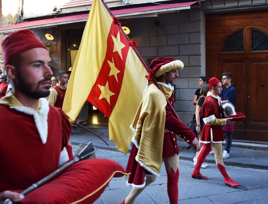 Montalcino: the Sagra del Tordo