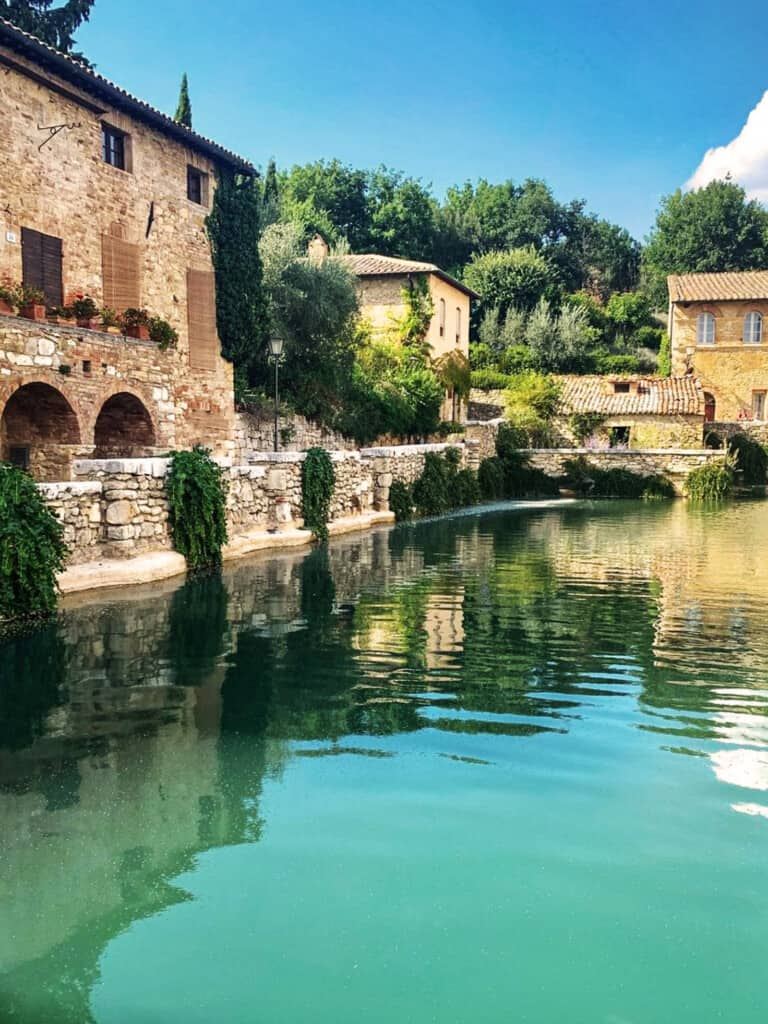 natural spa hot springs Tuscany