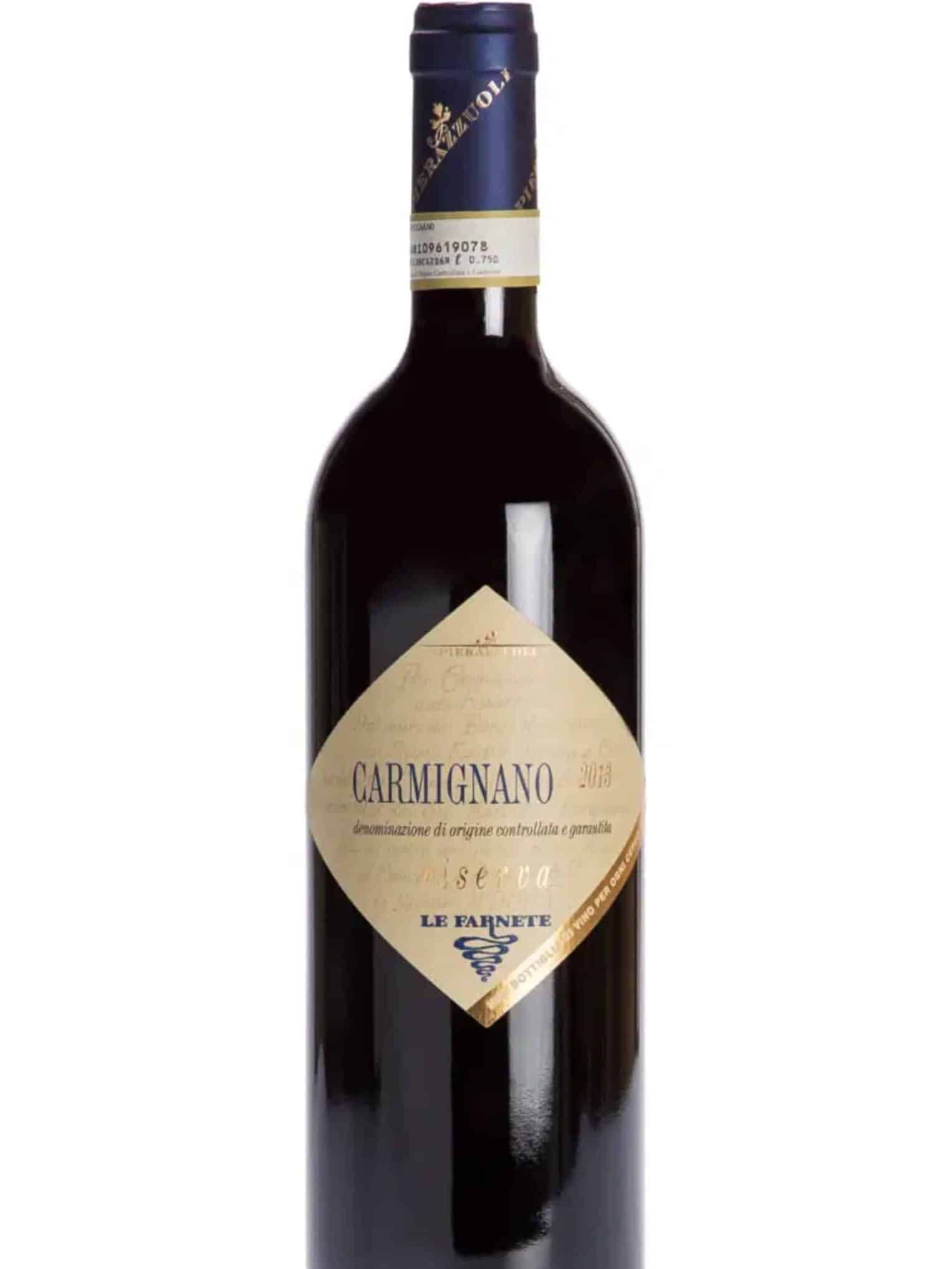 Carmignano wine