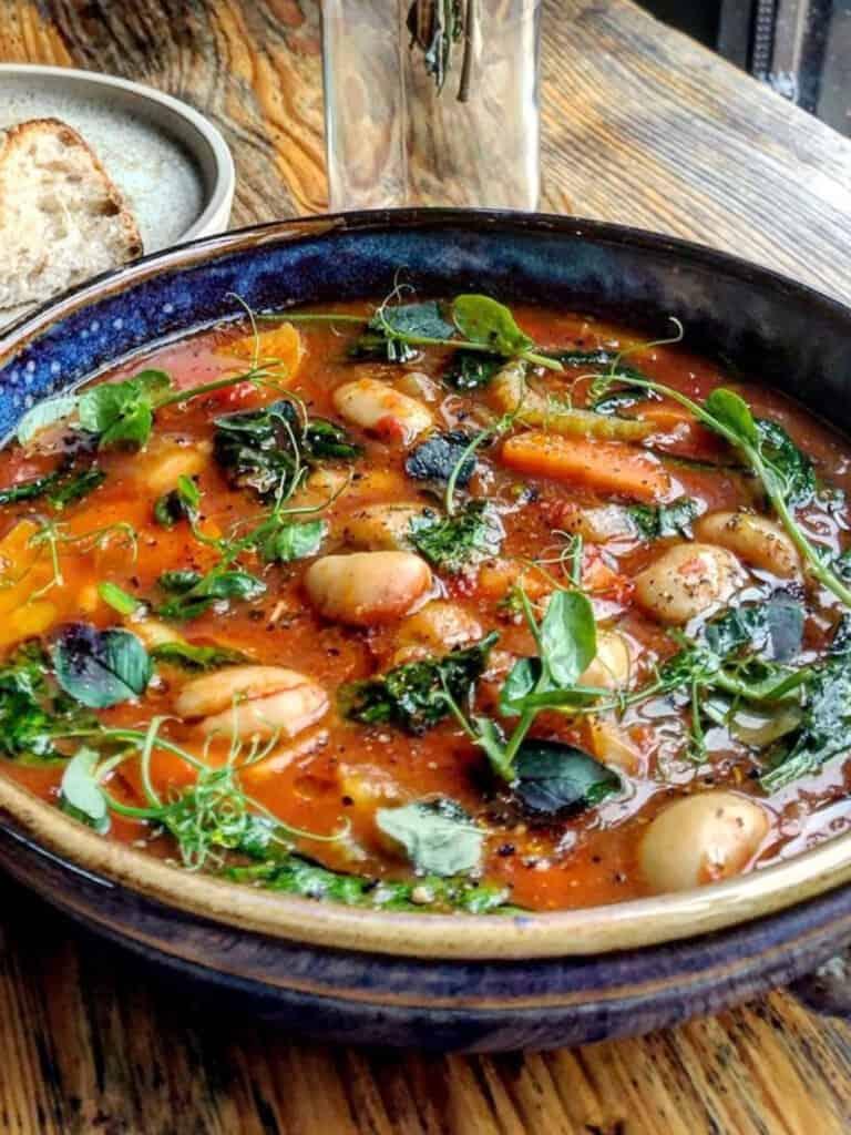 Ribollita Soup in Montalcino Tuscany