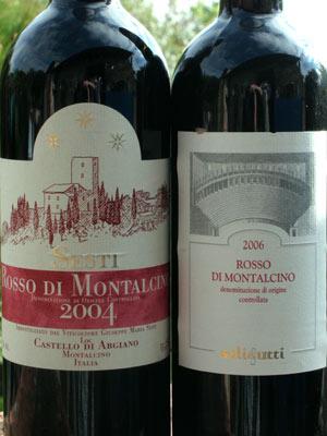 Other Montalcino Wines - Montalcino Wine Tours